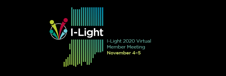 Banner for I-light and GigaPOP members meeting 2019